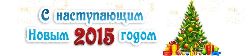 С наступающим Новым 2015 годом